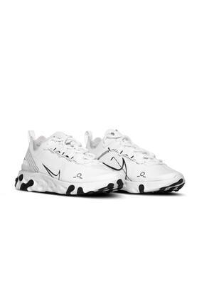 Nike Unisex Beyaz React Element 55 / Cu3009-100 Spor Ayakkabı 1