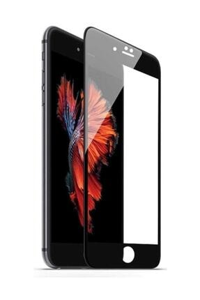 Glasslock Iphone 8 Plus 7 Plus Tam Kaplayan Kırılmaz Cam Koruyucu Siyah 5d 9d 0