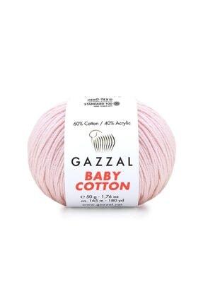 Gazzal Baby Cotton Amigurumi Ipi 50 Gr El Örgü Ipi Punch Ipi 3411 Pamuk+akrilik Örgü Ipi 2