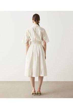 İpekyol Büzgü Detaylı Gömlek Elbise 2