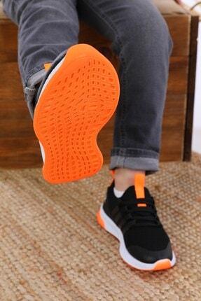 AlbiShoes Unisex Çocuk Siyah Sneaker 1