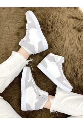 ELSESHOES Kadın Beyaz Spor Ayakkabı 0