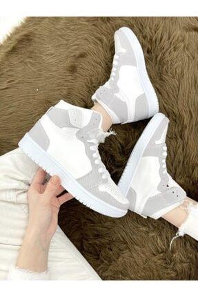 ELSESHOES Kadın Beyaz Spor Ayakkabı 3