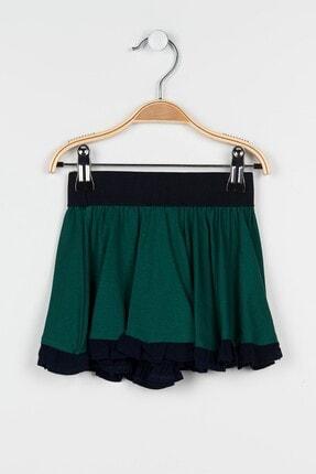 Kız Çocuk Zümrüt Yeşili Etek 9287