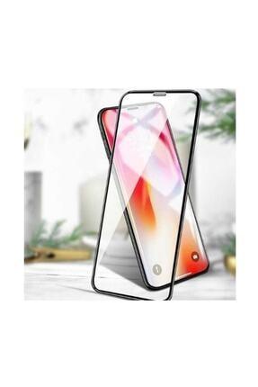 Unipha iPhone X Uyumlu 6D Temperli Cam Full Ekran Koruyucu Siyah 2