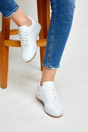 Tonny Black Unısex Spor Ayakkabı Beyaz Cilt Tb107 2