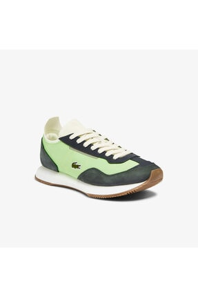Lacoste Match Break 0721 1 G Sfa Kadın Açık Yeşil - Beyaz Sneaker 741SFA0105 0