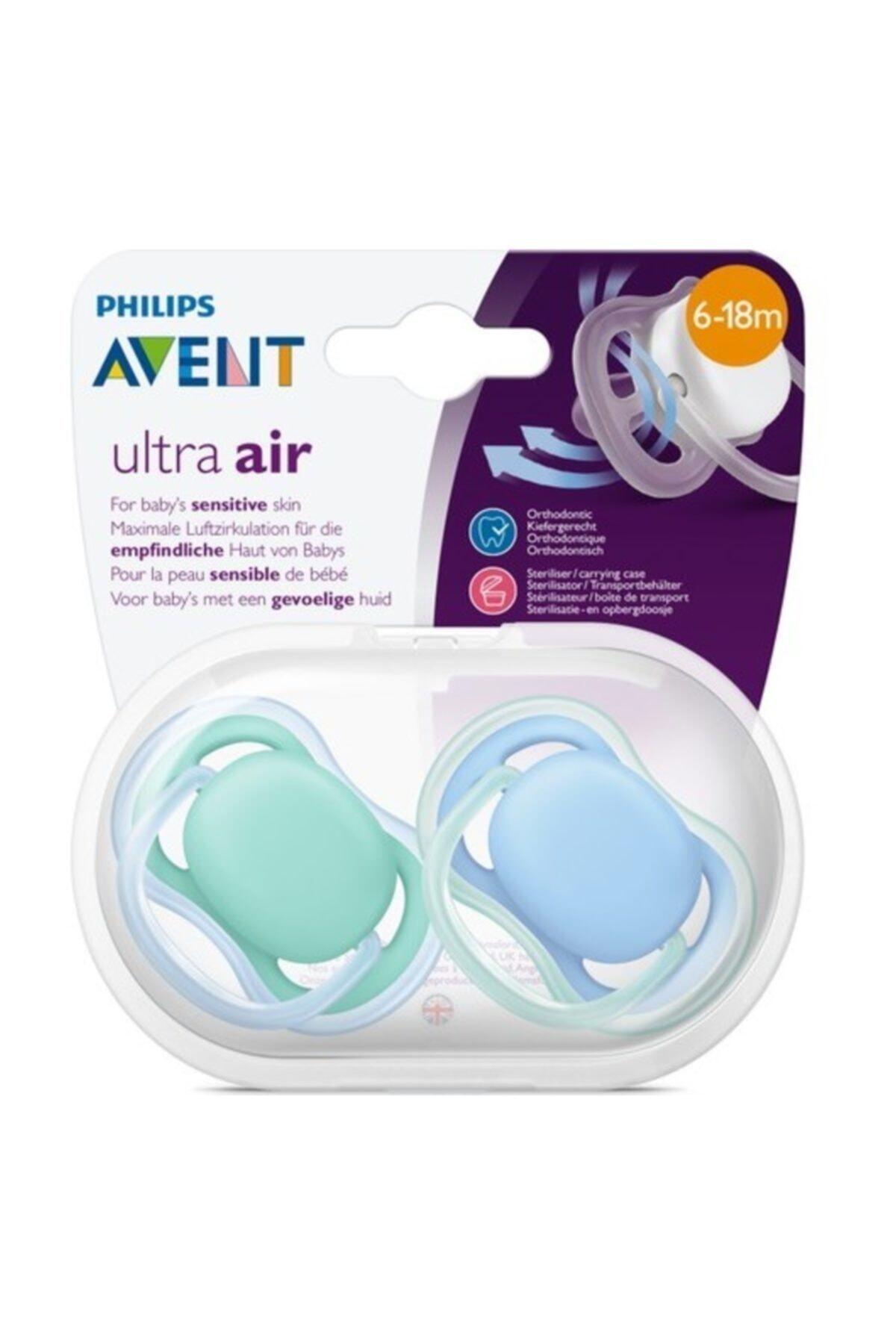 Philips Avent Scf244/22 Ultra Air Emzik 6 - 18 Ay Erkek - Renkli