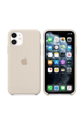 Nezih Case Iphone 11 Silikon Kılıf Bej 0
