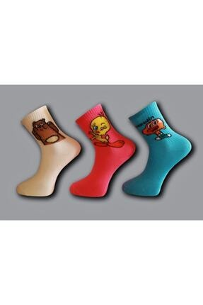 Çoraphane Kolej Çorap 10 Çift 2