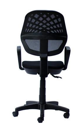 Orianna Design Fileli Döner Koltuk Çalışma Koltuğu Laboratuvar Sandalyesi Dönerli Sandalye 3