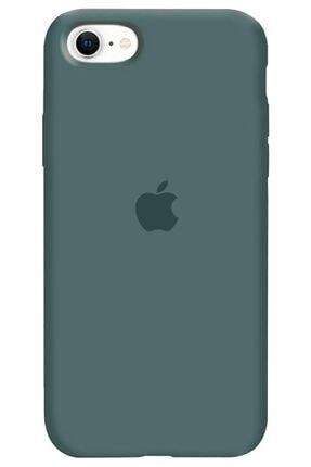 KVK PRİVACY Iphone Se 2020 Logolu Lansman Kılıf Altı Kapalı Iç Kısmı Kadife 0