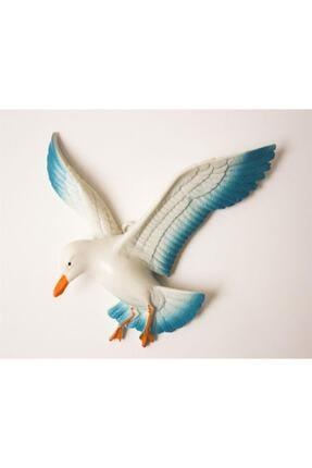 Crey Hediyelik Üçlü Kuş Duvar Süsü, Üç Boyutlu Martı, Dekoratif Aksesuar, Balkon Süsü, Bahçe Süsü, Hediyelik Eşya 1