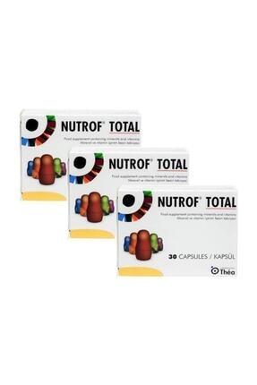 Thea Nutrof Total 30 Kapsül - 3 Adet 0