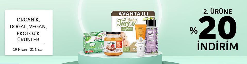 Organik, Doğal, Vegan, Ekolojik Ürünler