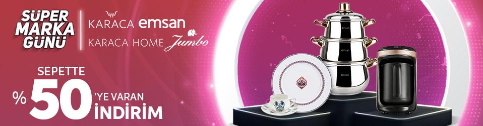 Karaca&Karaca Home&Emsan&Jumbo   Online Satış, Outlet, Store, İndirim, Online Alışveriş, Online Shop, Online Satış Mağazası