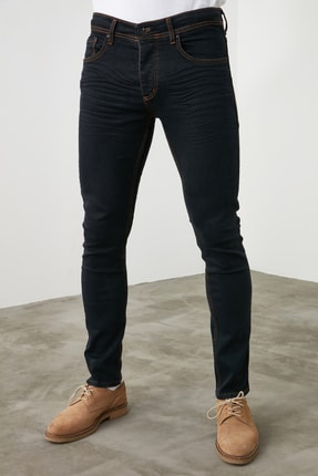 TRENDYOL MAN Siyah Erkek Skinny Jeans TMNSS20JE0242 3