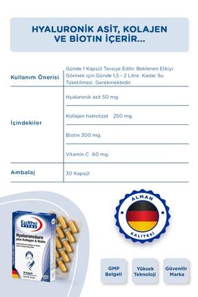 Eurho Vital Eurho® Vital Hyaluronik Asit, Kollajen Ve Biotin Içeren Takviye Edici Gıda 4