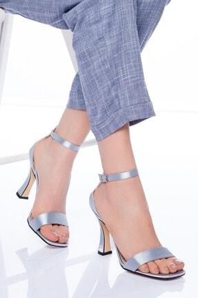 Gri Topuklu Ayakkabı 2892757