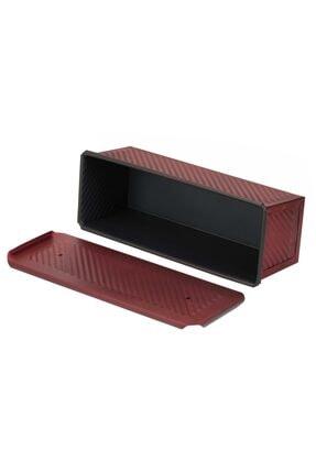 EKMAŞ Kırmızı Ekmek Kalıbı, 10x10x30 Cm 3