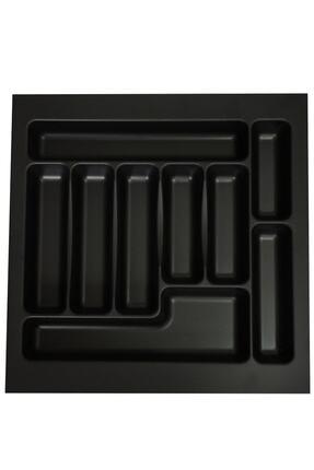 İNTERİO 47 Cm X 49 Cm Çekmece Içi Kaşıklık Siyah 43x41'e Kadar Kesilebilir 0