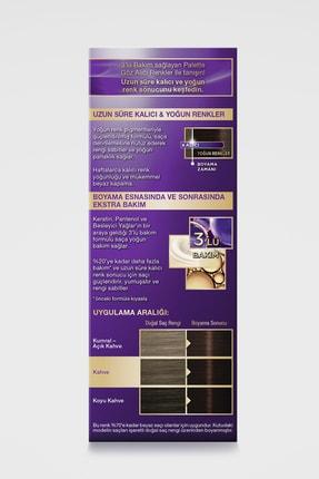 Palette Göz Alıcı Renkler 3-65 Çikolata Kahve  X 2 Adet 3
