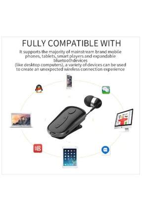 Tiegem Bluetooth 4.0 Makaralı Streo Headset Mikrofonlu Kulaklık Beyaz 4