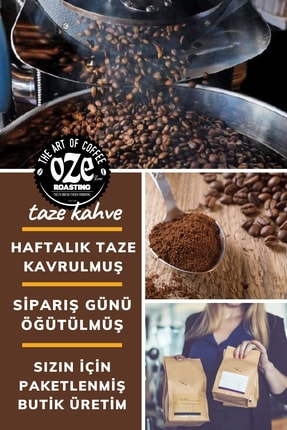 Oze Çikolatalı Ve Frambuaz Aromalı Filtre Kahve 250 gr. (French Press Için Öğütülmüş ) 1