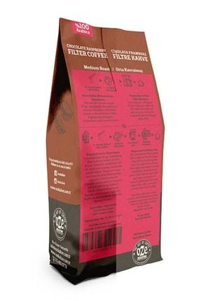 Oze Çikolatalı Ve Frambuaz Aromalı Filtre Kahve 250 gr. (French Press Için Öğütülmüş ) 2