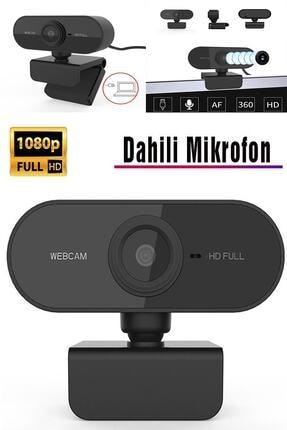TeknoExpress Uzaktan Eğitim Için Full Hd 1080p Çözünürlük Mikrofonlu Bilgisayar Kamerası Webcam 2
