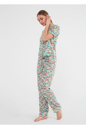 Suwen Jolly Maskulen Pijama Takımı 1