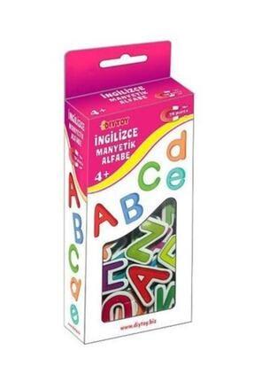 DF Toys 3'lü Manyetik Sayılar-harfler-tangram Magnet 3-6 Yaş 3
