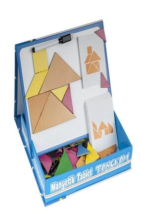 DF Toys Manyetik Tablet Tangram 1