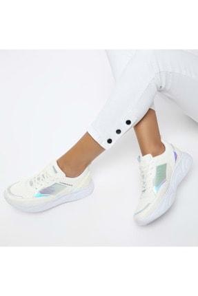 Kadın Günlük Spor Ayakkabısı - Beyaz - Btmz000335-beyaz-36 BTMZ000335