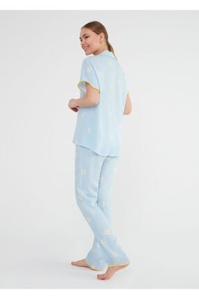 Suwen Daisy Maskulen Pijama Takımı 3