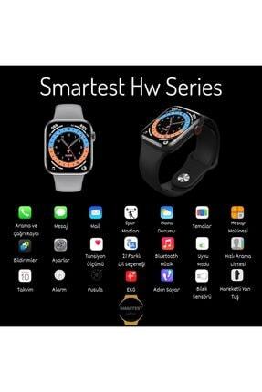SMARTEST Hw16 Series Akıllı Saat Suya Dayanıklı Nabız & Tansiyon Ölçer Çok Fonksiyonlu Ios Ve Android Uyumlu 1