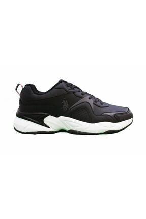 US Polo Assn JIMMY Siyah Erkek Sneaker Ayakkabı 100536422 0