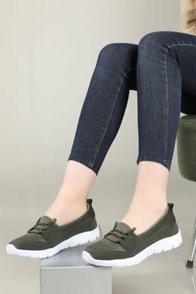 CARLA BELLA Günlük Rahat Yeşil Kadın Ayakkabı S-041 0