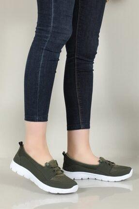 CARLA BELLA Günlük Rahat Yeşil Kadın Ayakkabı S-041 1