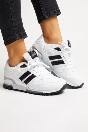 Tonny Black Beyaz Unisex Sneaker TB282-0 1