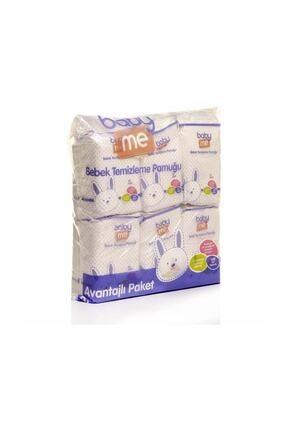 Baby Me Temizleme Pamuğu 6lı Paket 360 Adet 0