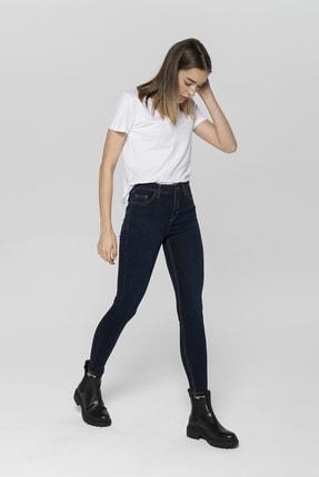 CROSS JEANS Judy Lacivert Yüksek Bel Skinny Fit Jean Pantolon 0