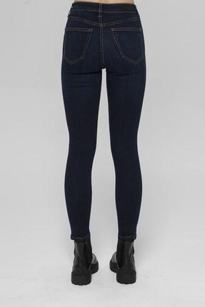 CROSS JEANS Judy Lacivert Yüksek Bel Skinny Fit Jean Pantolon 2