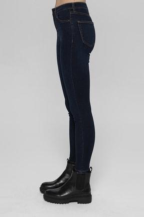 CROSS JEANS Judy Lacivert Yüksek Bel Skinny Fit Jean Pantolon 3