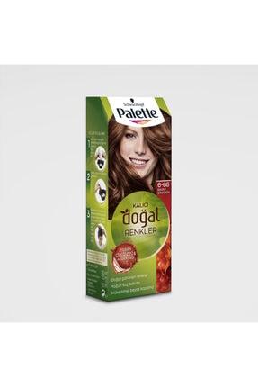 Palette Kalıcı Doğal Renkler 6-68 Bronz Çikolata 2