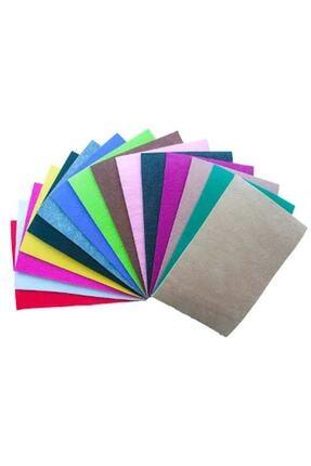 Magic Hobby 10 Adet Keçe Karışık Renk - A4 Boyutunda 20x30 Cm 1