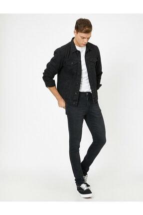 Koton Erkek Siyah Pantolon 0KAM43052MD 1