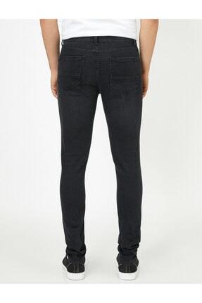 Koton Erkek Siyah Pantolon 0KAM43052MD 3
