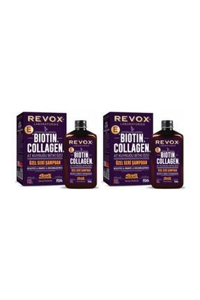 Revox Bıotın Colagen Şampuanı 400 ml 2 Adet 0
