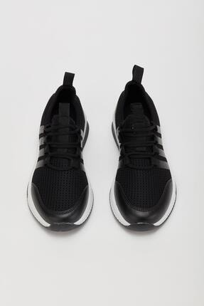 Muggo Unisex Siyah Sneaker Ayakkabı Mgforce01 2